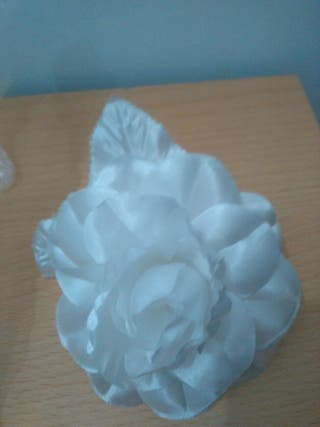 Flores tela regalo por compra