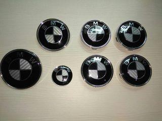ANAGRAMAS/EMBLEMAS BMW CARBONO