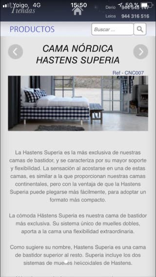Cama Hastens superia