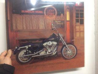 Lamina vintage moto