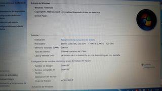 Portátil Samsung r60 plus