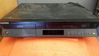 Reproductor Samsung VHS y DVD Grabador