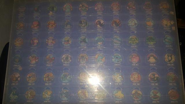 album de tazos de pokemon de panini