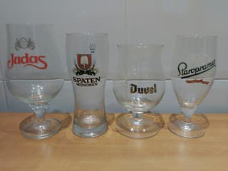 Copas de cerveza de importacion
