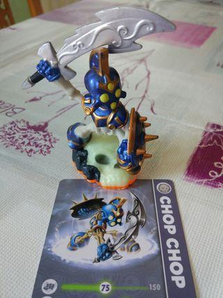 Figura Skylanders Wii con carta Chop Chop