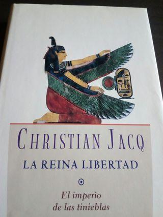 Christian Jacq.Trilogia La Reina Libertad
