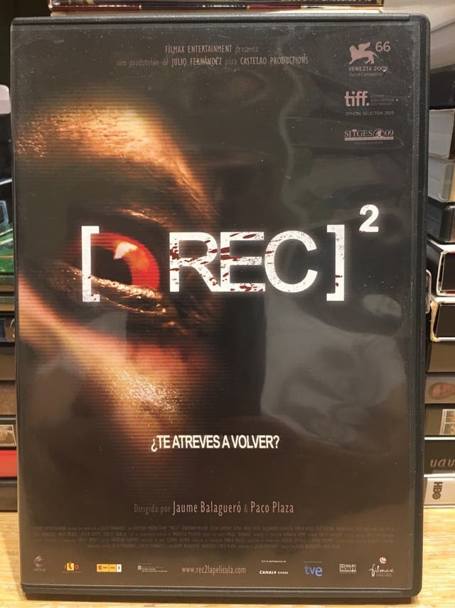 REC 2. Película. DVD