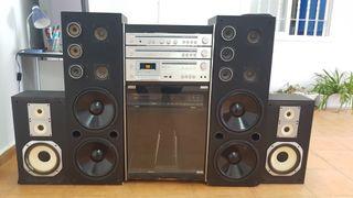 equipo audio vintage cambio