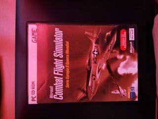 "Juego Pc ""Combat Flight Simulato"""