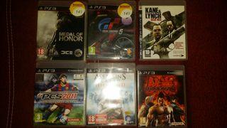 todos estos juegos para playstation 3