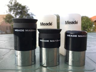 Oculares Meade 12mm y 4mm Multi-coated