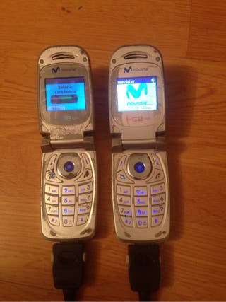 Dos telefonos Sagem