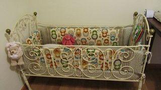 Bonita cuna vintage para bebe