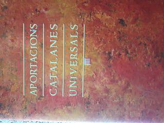 Libro Aportacions catalanes universals