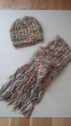 conjunto bufanda y gorro
