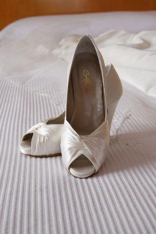 Zapatos novia 34