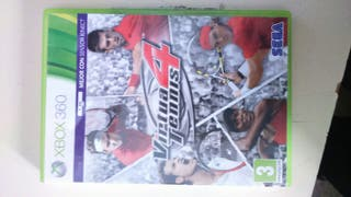 VIRTUAL TENNIS 4 XBOX 360