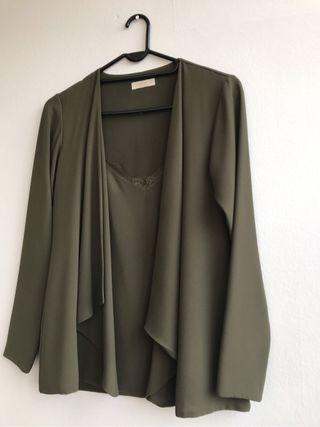 Chaqueta Biombo 13 Verde (S) - Bimani 13