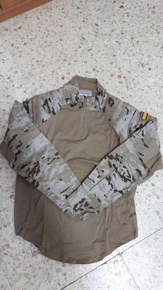 Camiseta ligera militar manga larga (talla S)