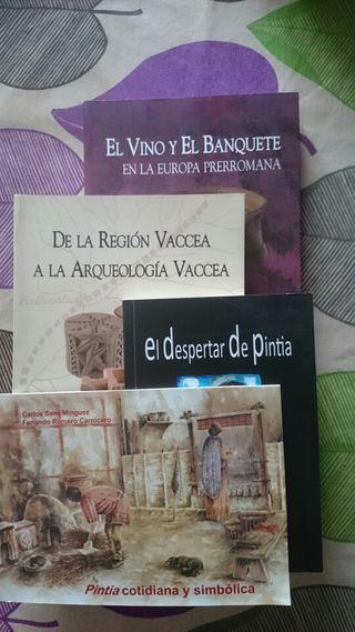 Libros Pintia y Vacceos LOTE