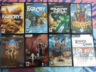Juegos de PC 3x10€