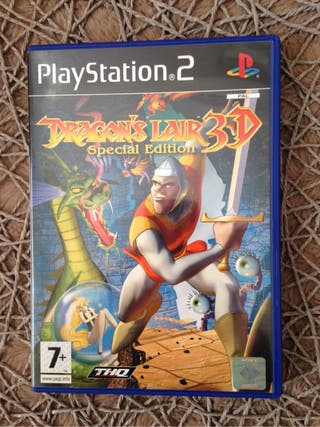 Videojuego Dragon's lair 3d special edition.(ps2)