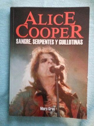 Alice Cooper libro rock
