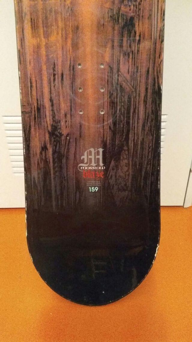 Tabla snowboard Morrow 1.59