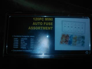 caja de 120 fusibles
