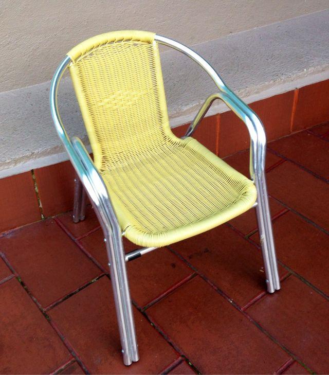 Oportunidad sillas terraza hosteleria y jard n de for Sillas de jardin segunda mano