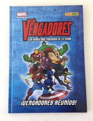 Libro comic Los Vengadores