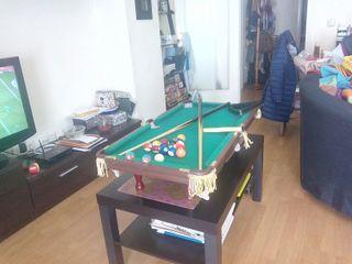 Mesa de billar snooker de segunda mano en wallapop - Mesa billar segunda mano ...
