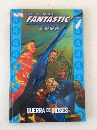 Comic Los cuatro Fantasticos