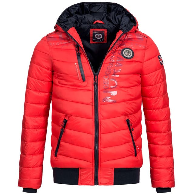 Chaqueta Hombre GEOGRAPHICAL NORWAY, Roja, Talla L