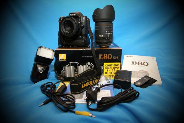 Equipo Completo Nikon D80