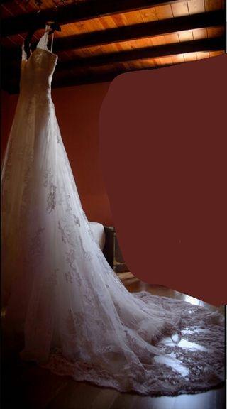vestido de novia de segunda mano en ourense en wallapop