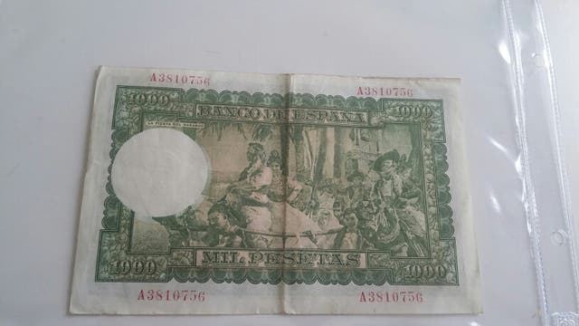BILLETE 1000 PESETAS 1951