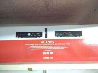 amplificador fonestar as-170usb