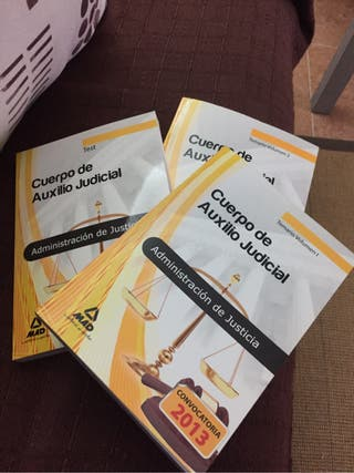 Libros Auxilio judicial (MAD)