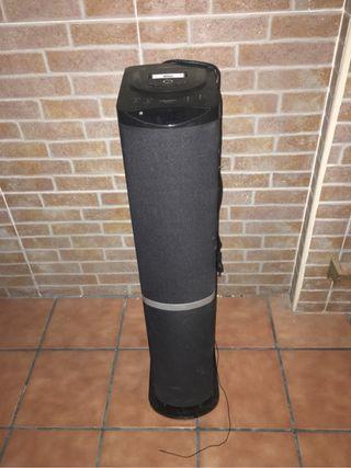 Torre de sonido lauson RADIO USB IPODS TARJETA SD