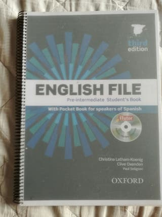 Libro de Inglés, Oxford.
