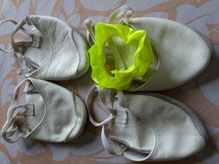 zapatillas piel para gimnasia ritmica
