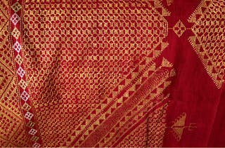 Phulkari bordado mano India