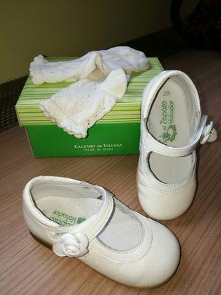 zapato ceremonia niña numero 22