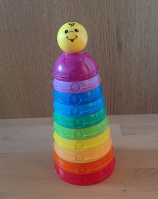 Cuencos apilables fisher price