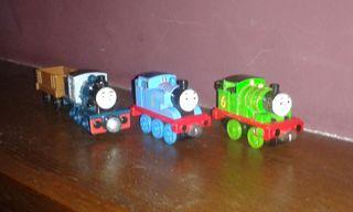 trenes de metal de Thomas.