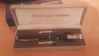 laser luz verde