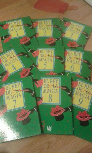 Magia. 9 libros de la coleccion EL REY DE LA MAGIA