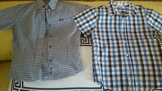 Camisas manga corta niño 10 años