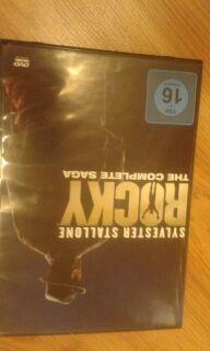 pack saga ROCKY en DVD ( 6 primeras peliculas)